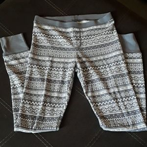 Size small old navy thermal leggings.